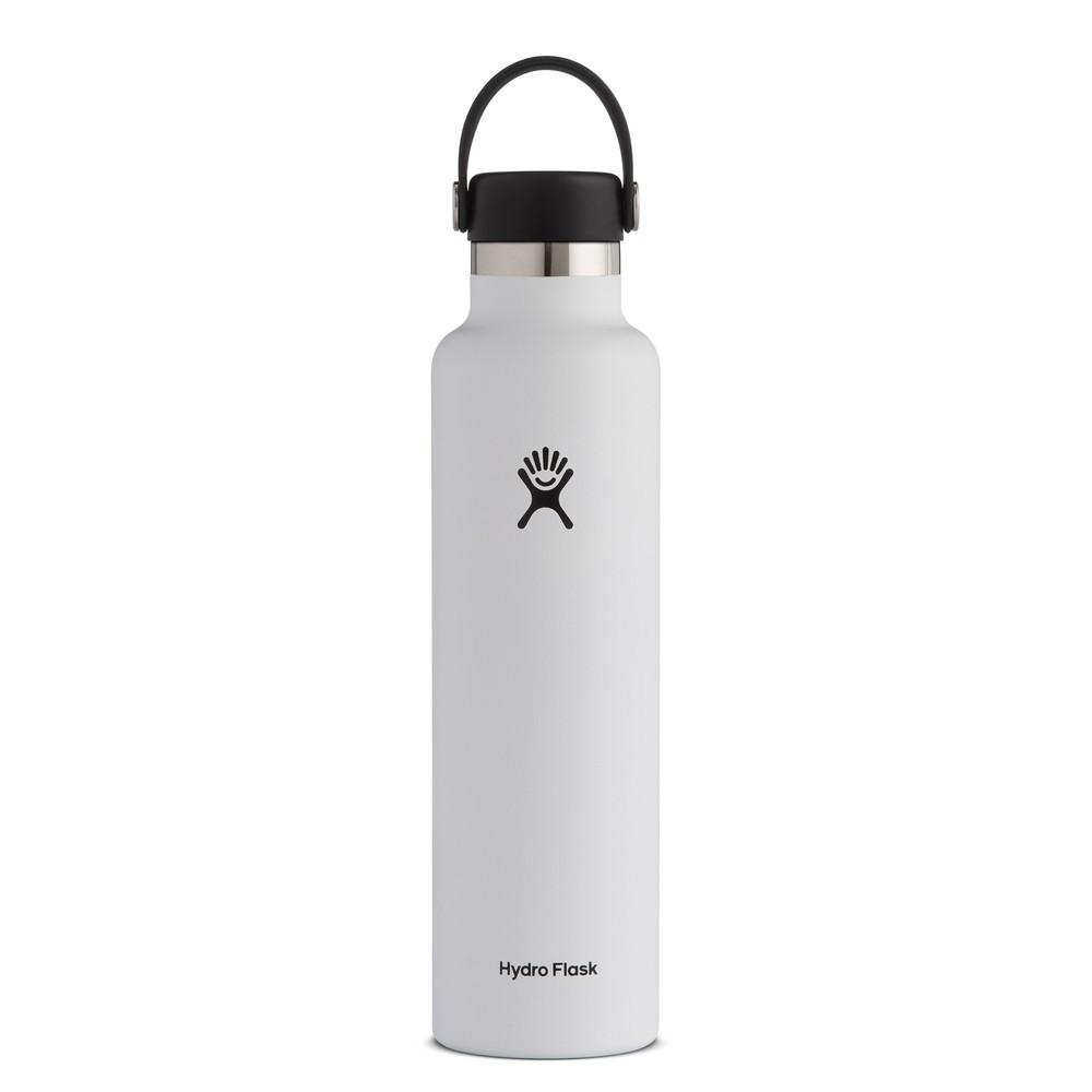 Hydro Flask 24oz Standard Mouth Flex Cap White