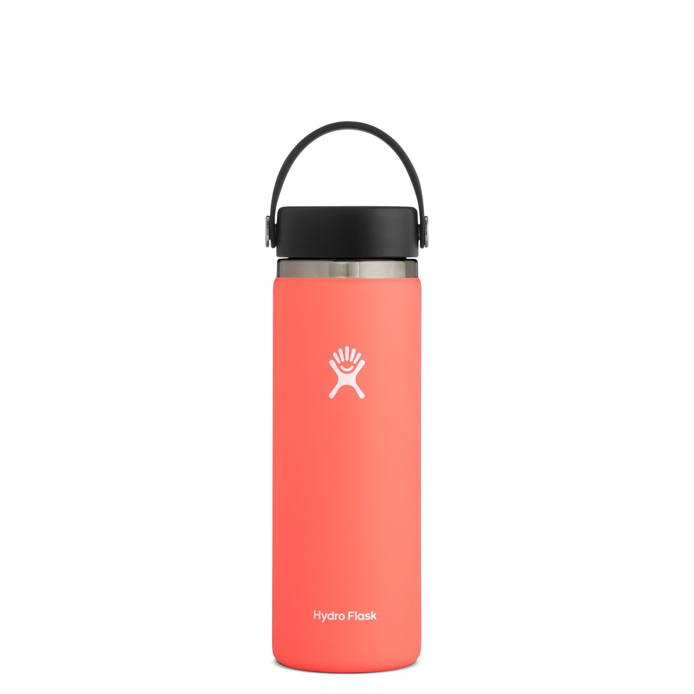 Hydro Flask 20oz Wide Mouth w/Flex Cap 2.0 Hibiscus