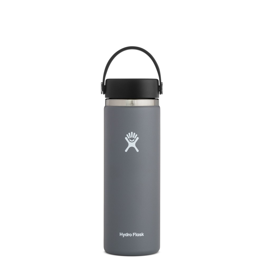 Hydro Flask 20oz Wide Mouth w/Flex Cap 2.0 Stone
