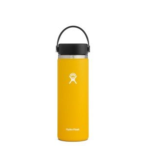 Hydro Flask 20oz Wide Mouth w/Flex Cap 2.0 in Sunflower