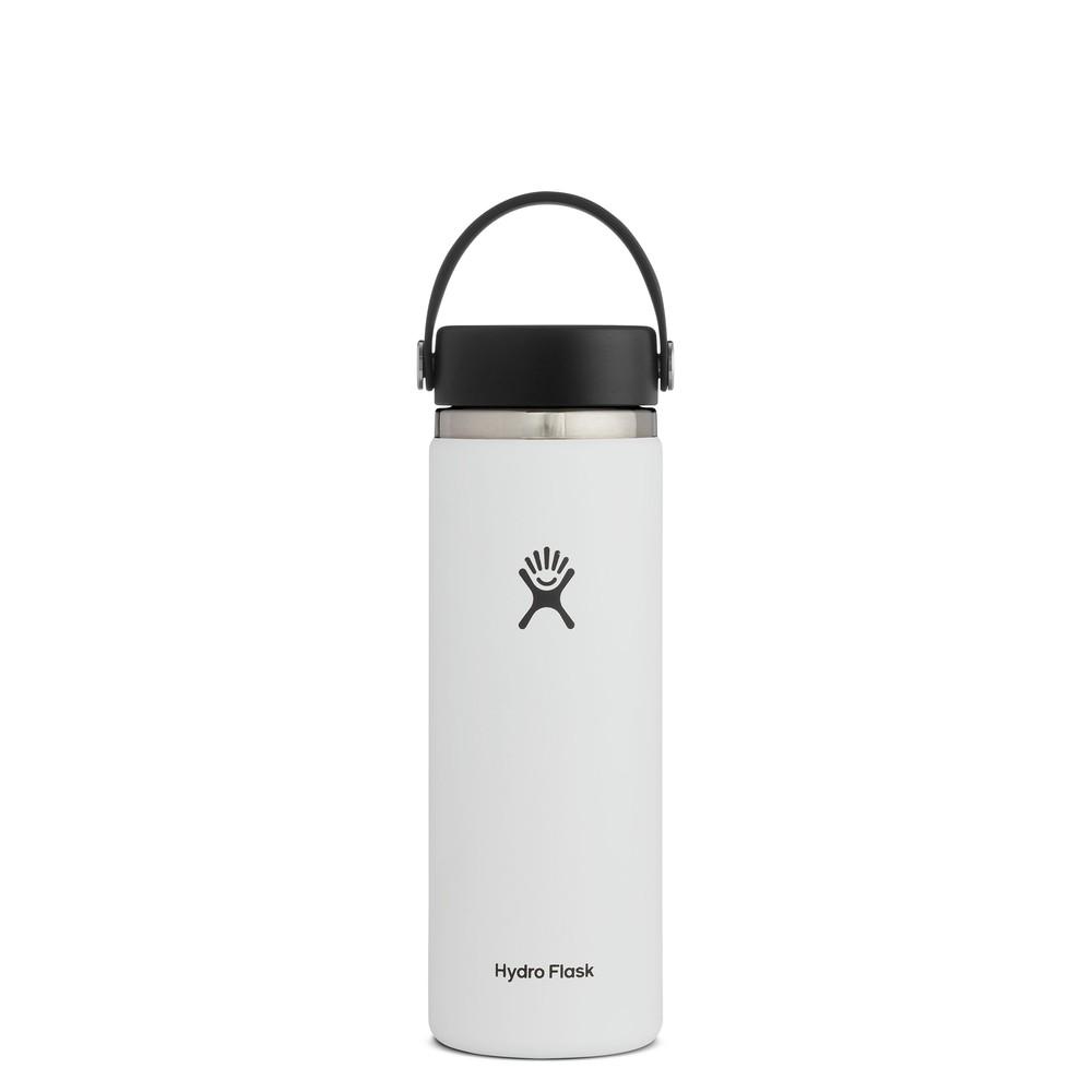 Hydro Flask 20oz Wide Mouth w/Flex Cap 2.0 White