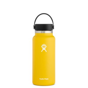 Hydro Flask 32oz Wide Mouth w/Flex Cap 2.0 in Sunflower