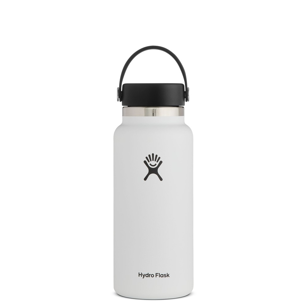 Hydro Flask 32oz Wide Mouth w/Flex Cap 2.0 White