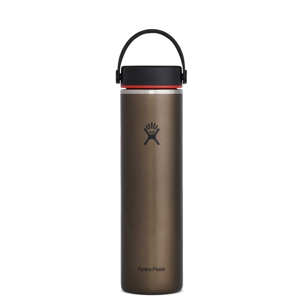 Hydro Flask 24oz Wide Mouth Lightweight Obsidian