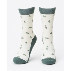 tentree 3-Bottle Daily Sock (2-pack) in Planting AOP Multi