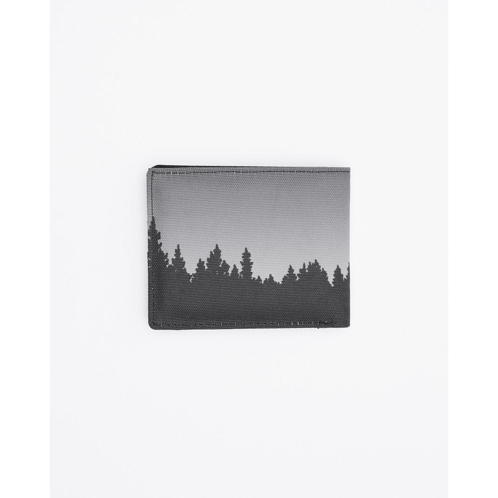 tentree Baron Bi-Fold Wallet Meteorite Black Juniper