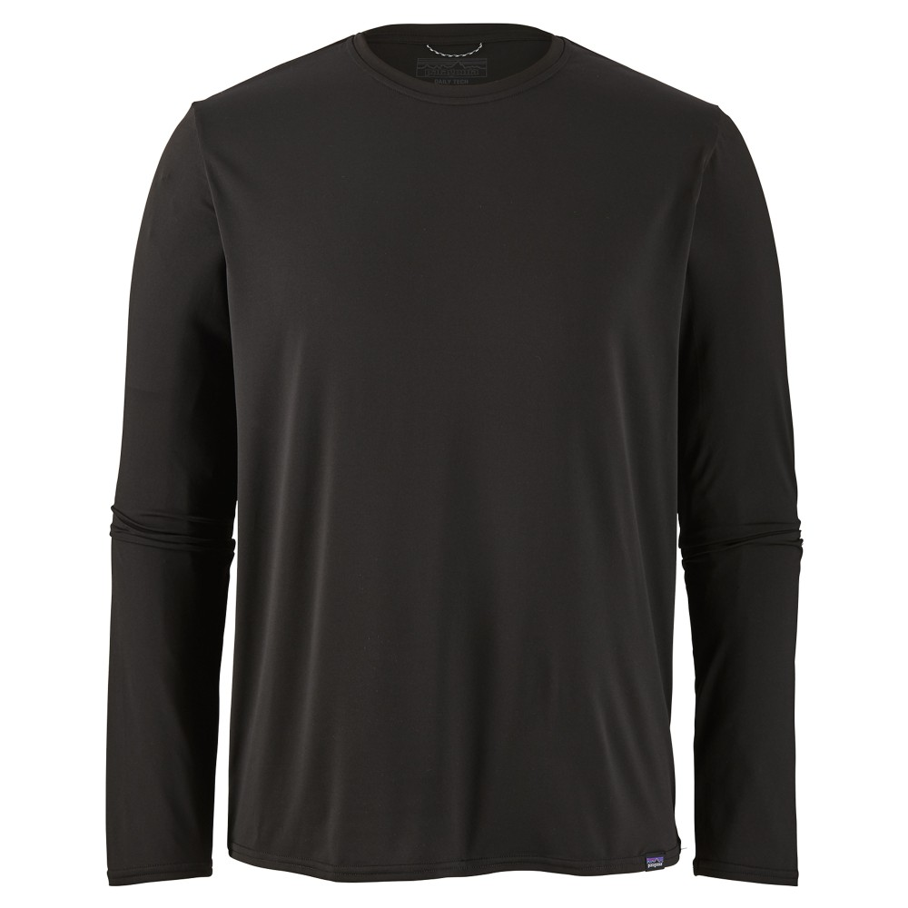 Patagonia LS Cap Cool Daily Shirt Mens Black