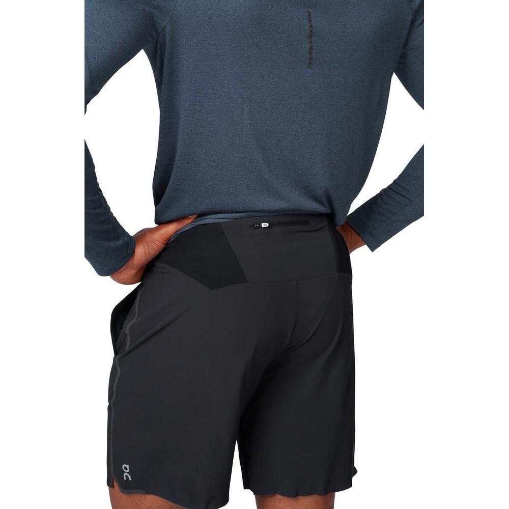 On Running Hybrid Shorts Mens Black