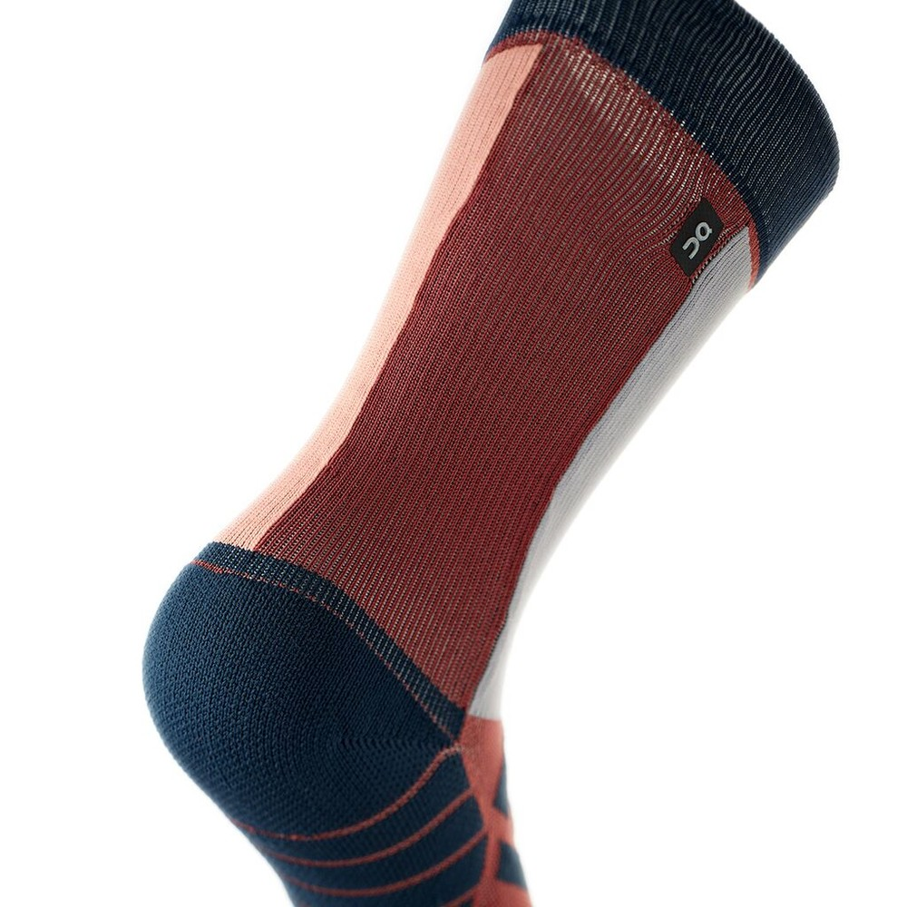 On Running High Sock Womens Ox/Navy