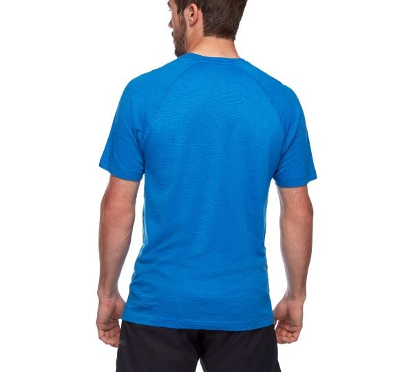 Black Diamond Rhythm Tee Mens Ultra Blue