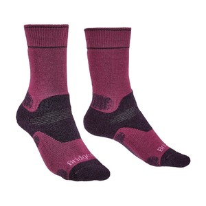 Bridgedale Hike Midweight Merino Performance Original Womens in Berry