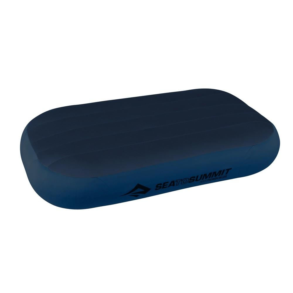 Sea To Summit Aeros Premium Deluxe Pillow Navy Blue