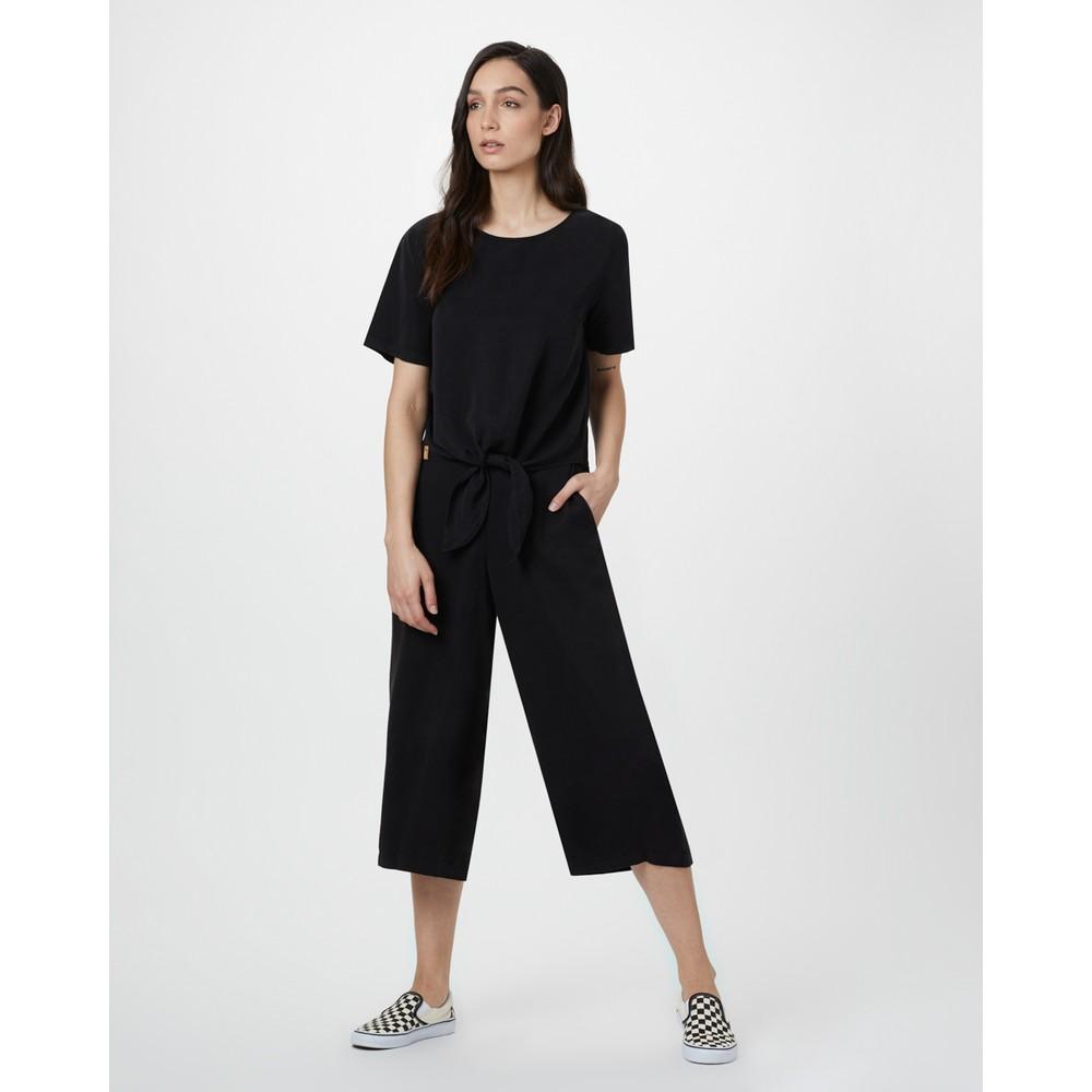 tentree Roche Shirt Womens Meteorite Black