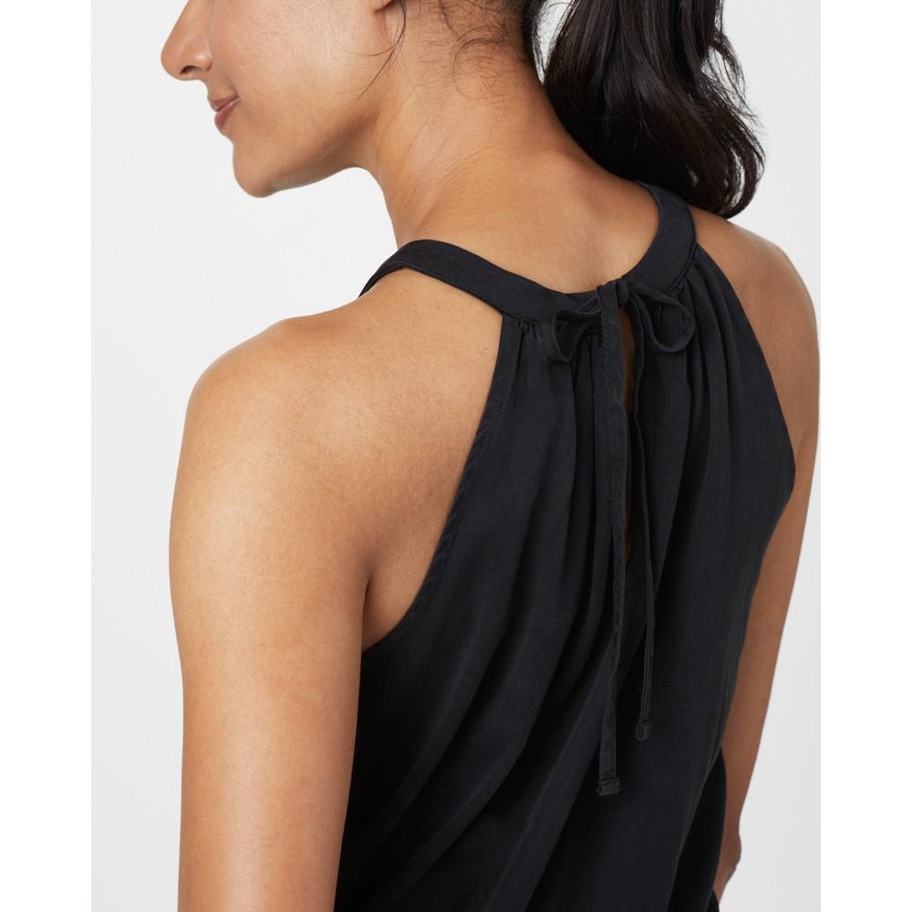 tentree Cypress Dress Womens Meteorite Black