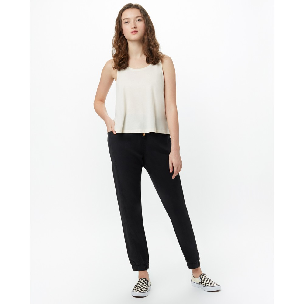 tentree Colwood Pant Womens Meteorite Black