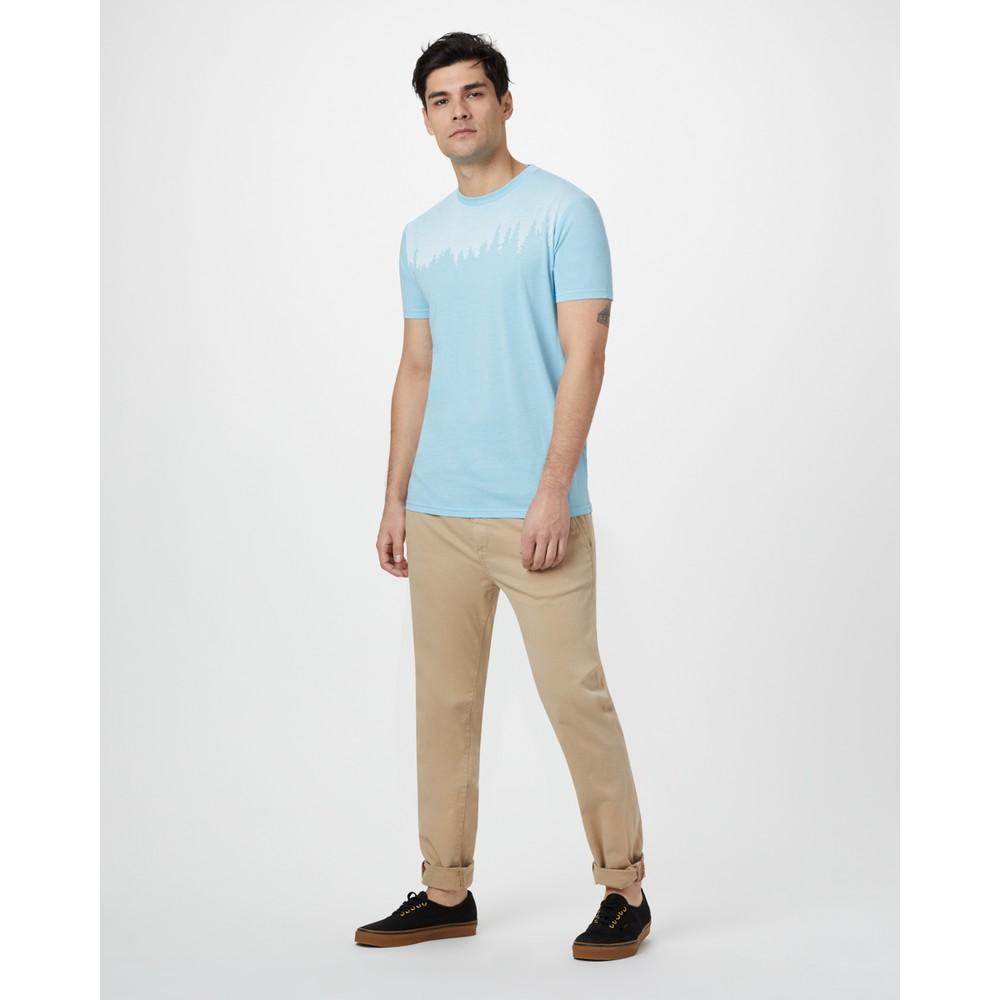 tentree Juniper Classic T-Shirt Mens Glacier Blue Heather