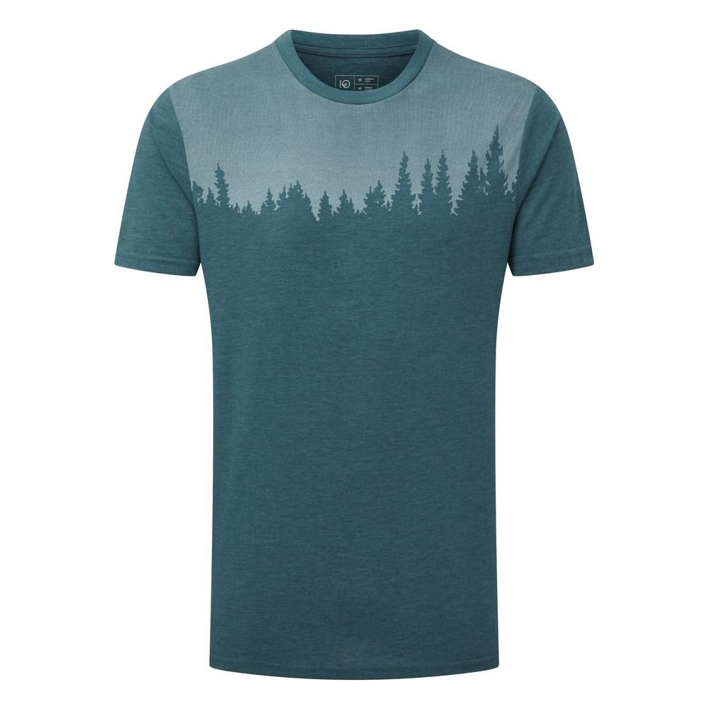 tentree Juniper Classic T-Shirt Mens Star Gaze Blue Heather