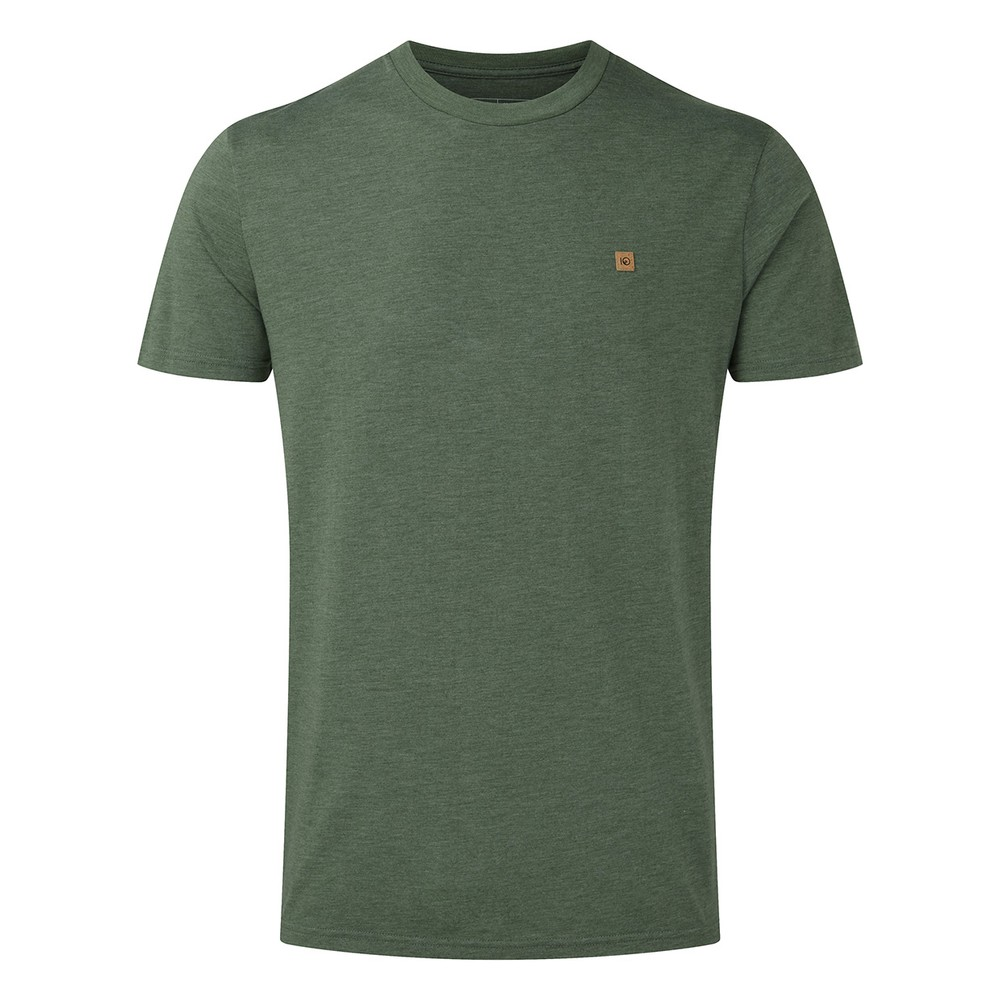 tentree Classic T-Shirt Mens Forest Green Heather