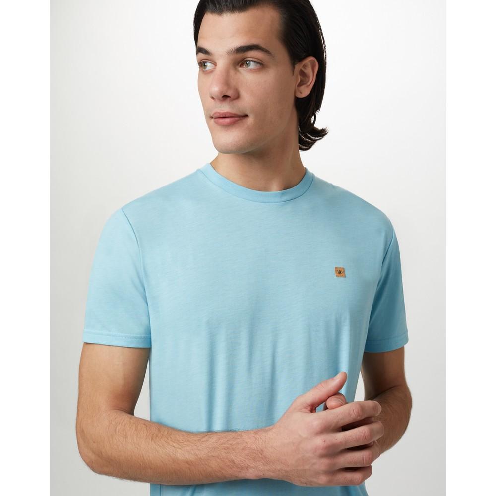 tentree Treeblend Classic T-Shirt Mens Glacier Blue Heather