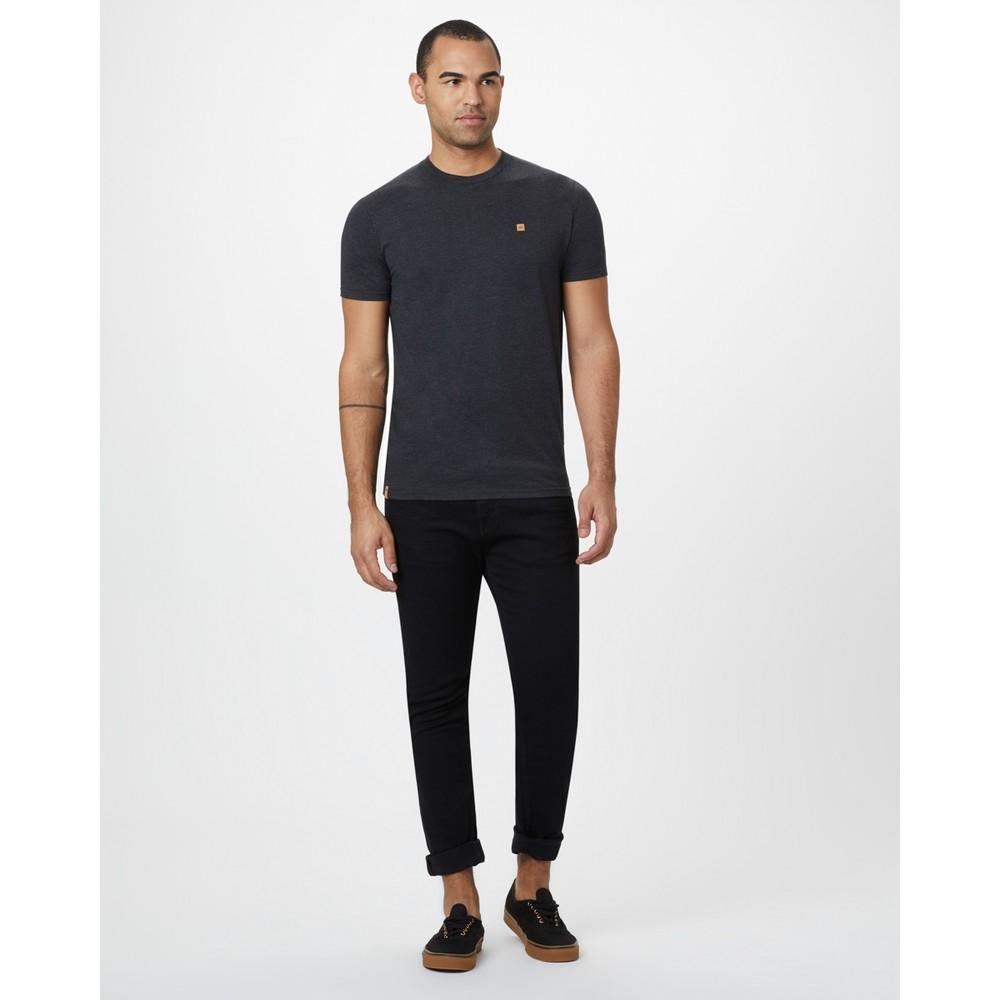 tentree Treeblend Classic T-Shirt Mens Meteorite Black Heather