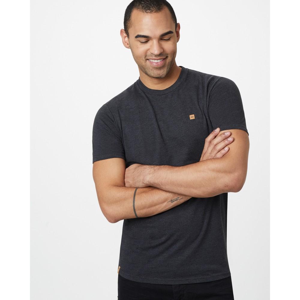 tentree Classic T-Shirt Mens Meteorite Black Heather