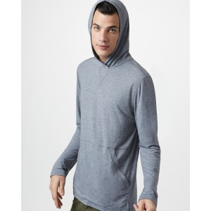 tentree Destination Hoodie Mens in Hi Rise Grey Heather