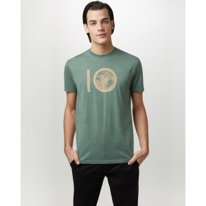 tentree ten Classic T-Shirt Mens in Forest Green Heather