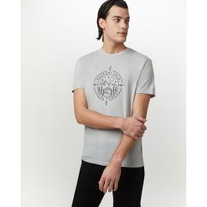 Support Classic T-Shirt Mens Hi Rise Grey Heather