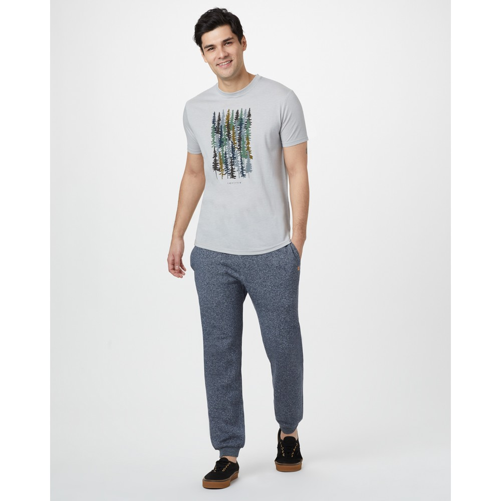 tentree Spruced Up Classic T-Shirt Mens Hi Rise Grey Heather