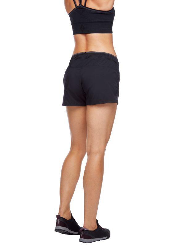 Black Diamond Sprint Shorts 4inch Womens Black