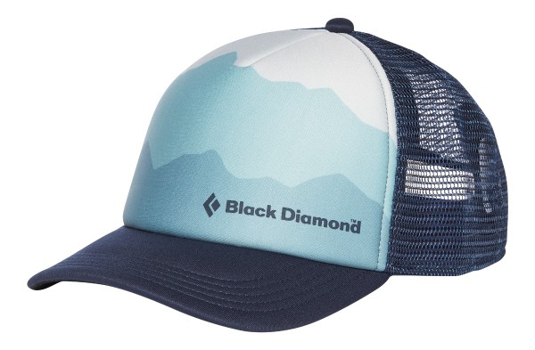 Black Diamond Trucker Hat Womens Eclipse/Blue Ice
