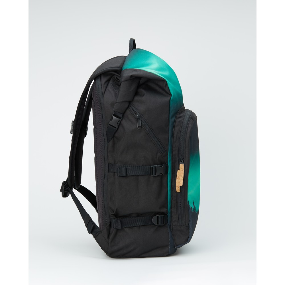 tentree Mobius 35L Backpack Meteorite Black/Northern Juniper SUB