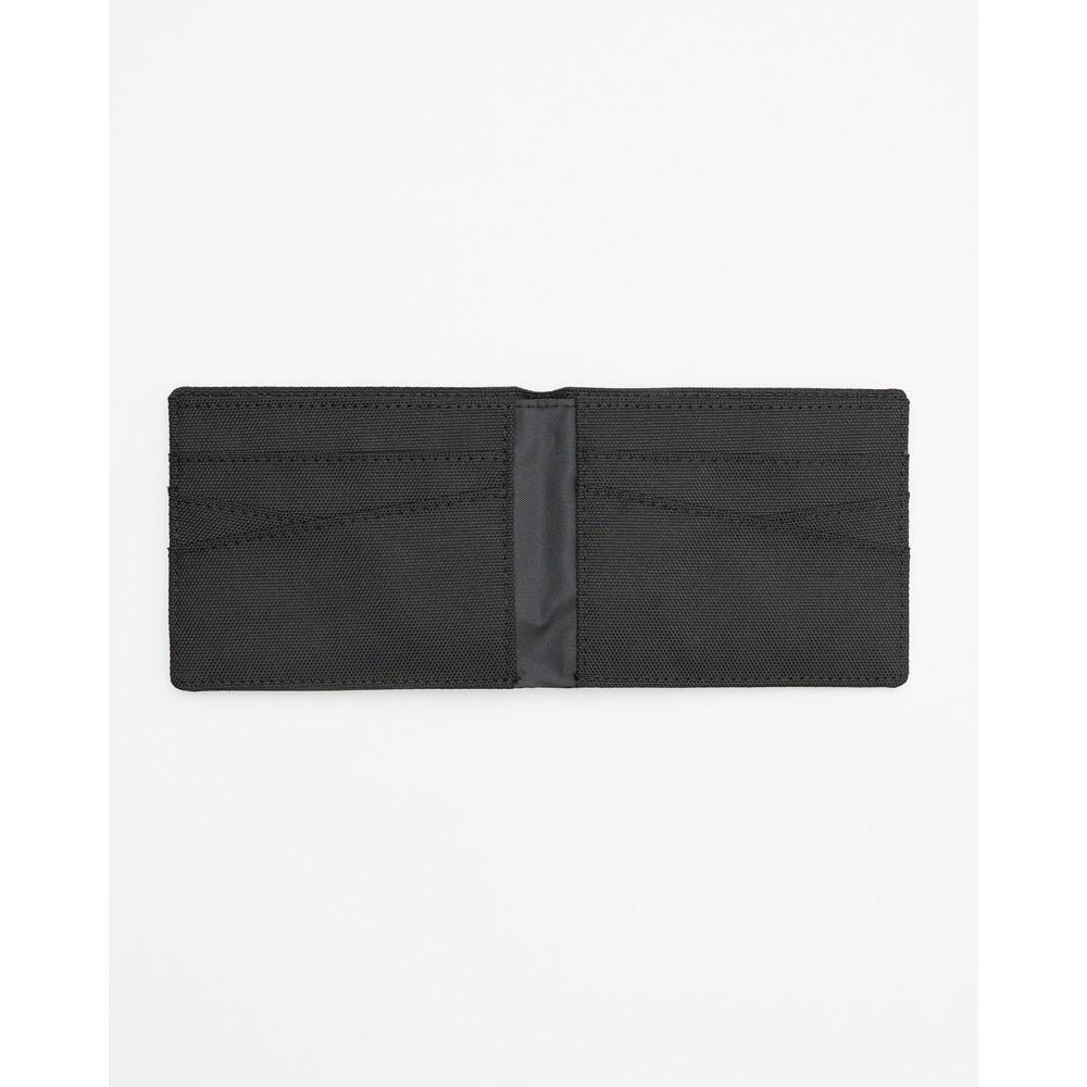 tentree Baron Bi-Fold Wallet Meteorite Black
