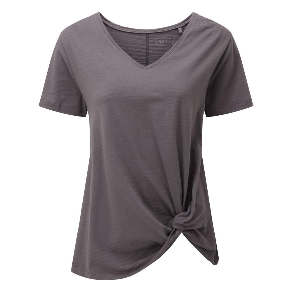 tentree Enso T-Shirt Womens Boulder Grey