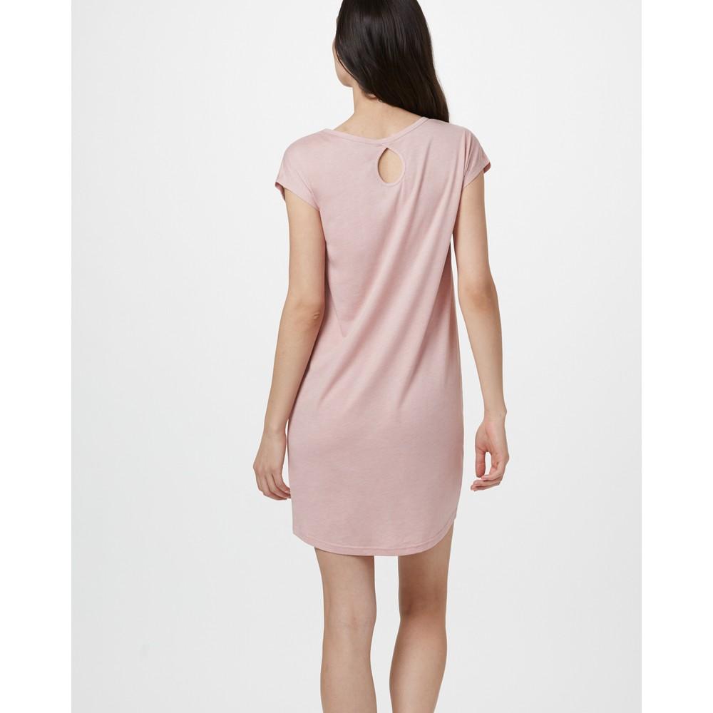 tentree Waldron Dress Womens Quartz Pink Heather