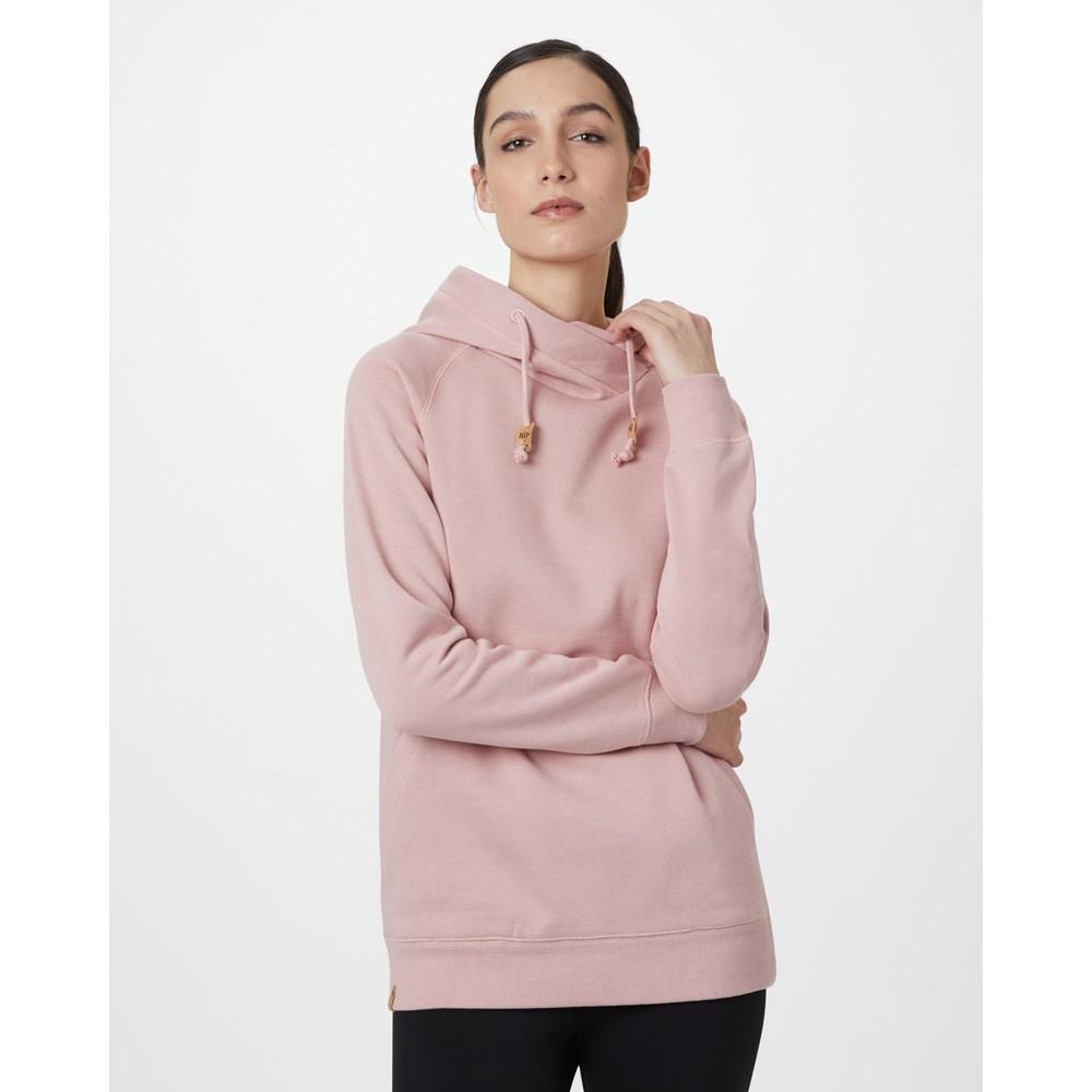 tentree Burney Hoodie Womens Quartz Pink Heather