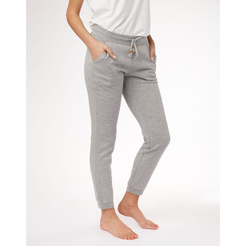 tentree Bamone Sweatpant Womens Hi Rise Grey Heather