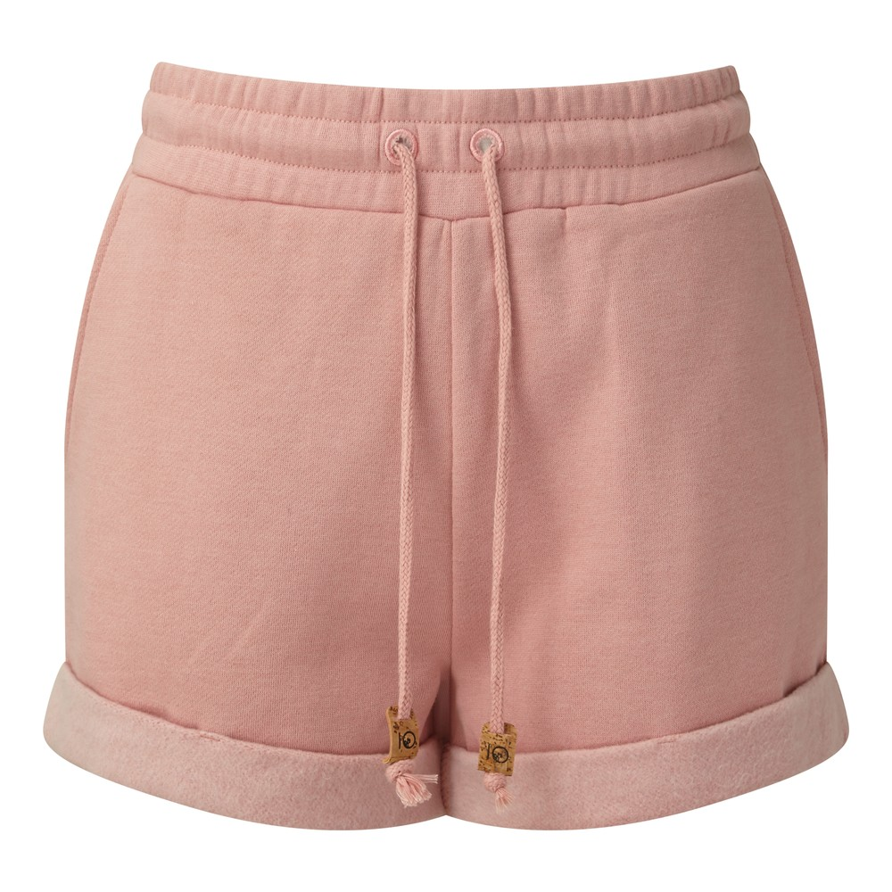 tentree Bamone Sweatshort Womens Quartz Pink Heather