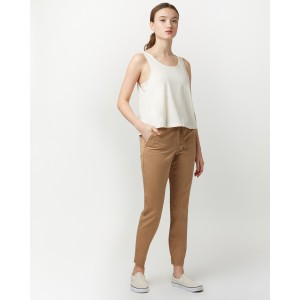 tentree Pacific Pant Womens in Sandstone Beige