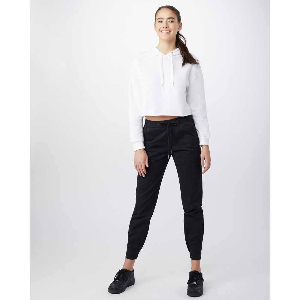 tentree Pacific Pant Womens Meteorite Black