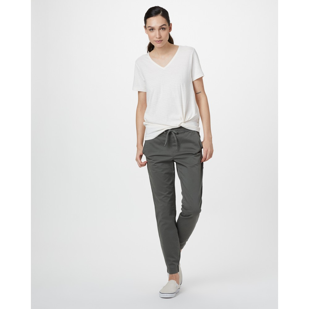 tentree Pacific Pant Womens Castor Grey
