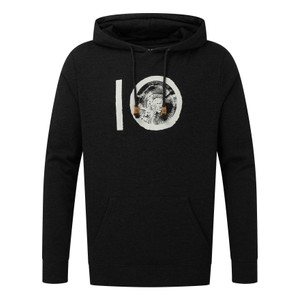 tentree ten Classic Hoodie Mens in Meteorite Black Heather