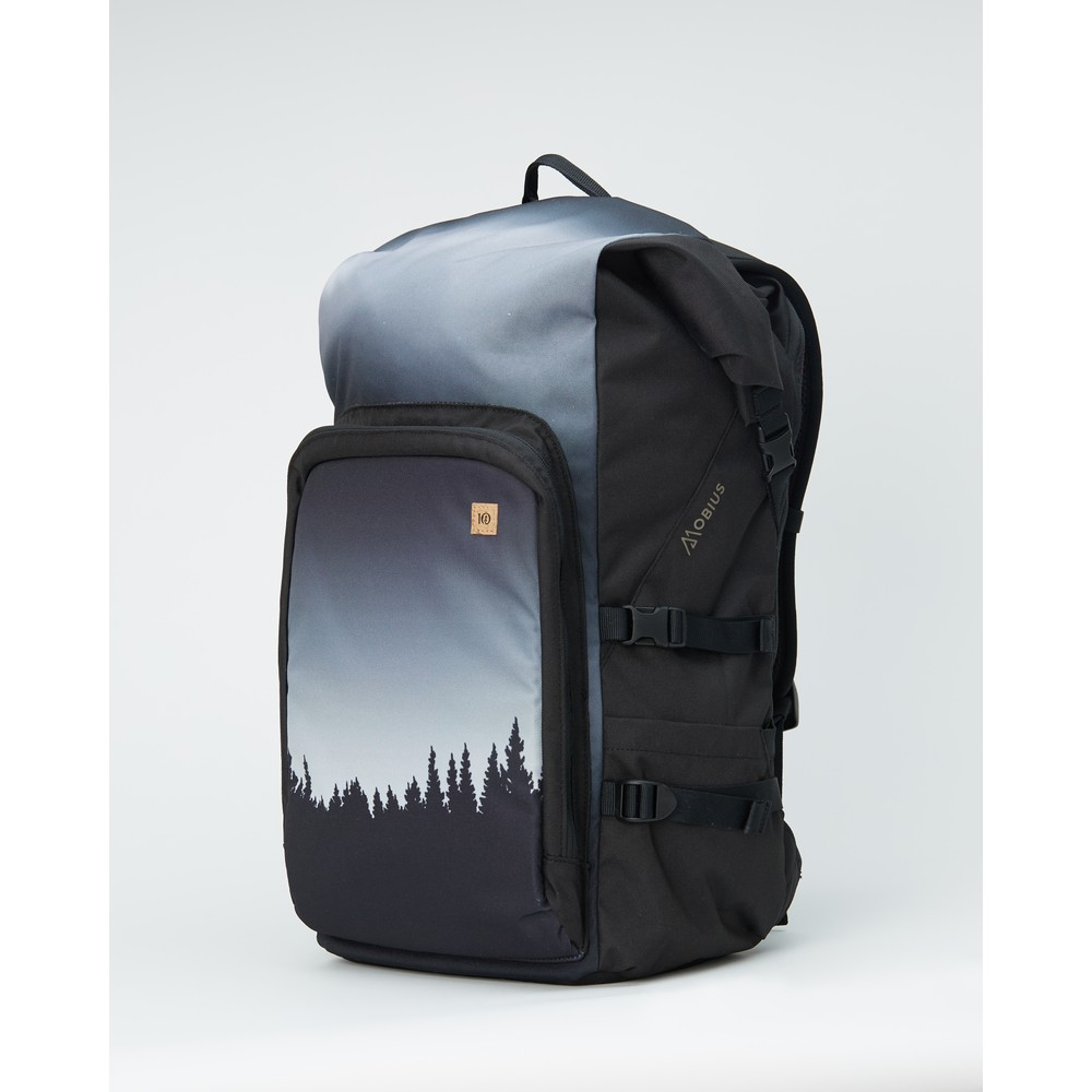 tentree Mobius 35L Backpack Meteorite Black Juniper