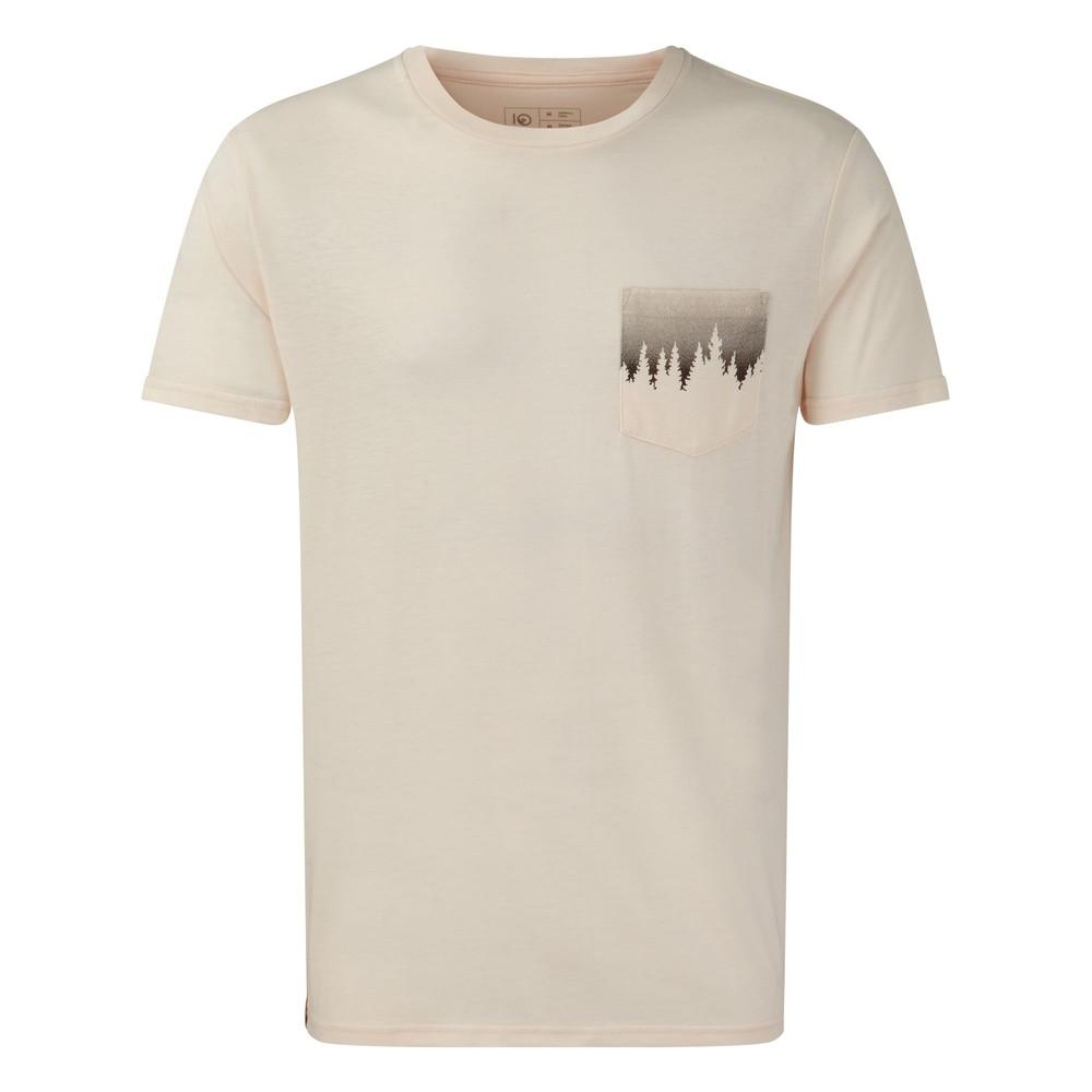 tentree Juniper Pocket T-Shirt Mens Elm White Heather