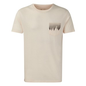 tentree Juniper Pocket T-Shirt Mens in Elm White Heather