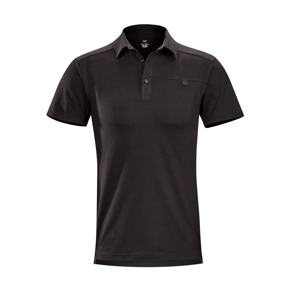 Arcteryx  Captive SS Polo Mens Black