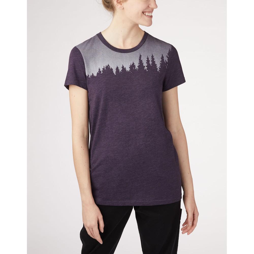 tentree Juniper Classic T-Shirt Womens Blue Lake Blue Heather