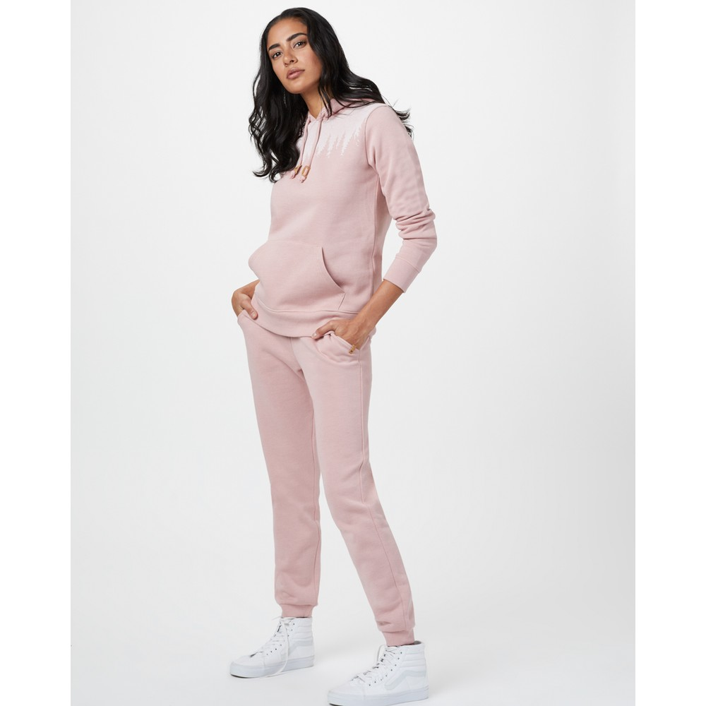 tentree Juniper Hoodie Womens Quartz Pink Heather