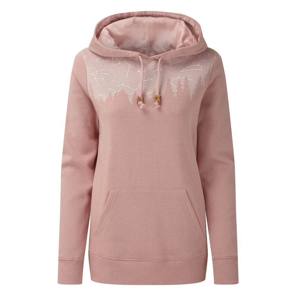 tentree Constellation Classic Hoodie Womens Quartz Pink Heather