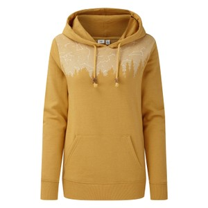 tentree Constellation Classic Hoodie Womens in Sweet Birch Yellow Heather